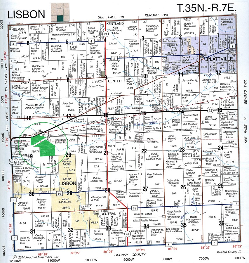 Property For Sale Newark IL Kendall County Lisbon