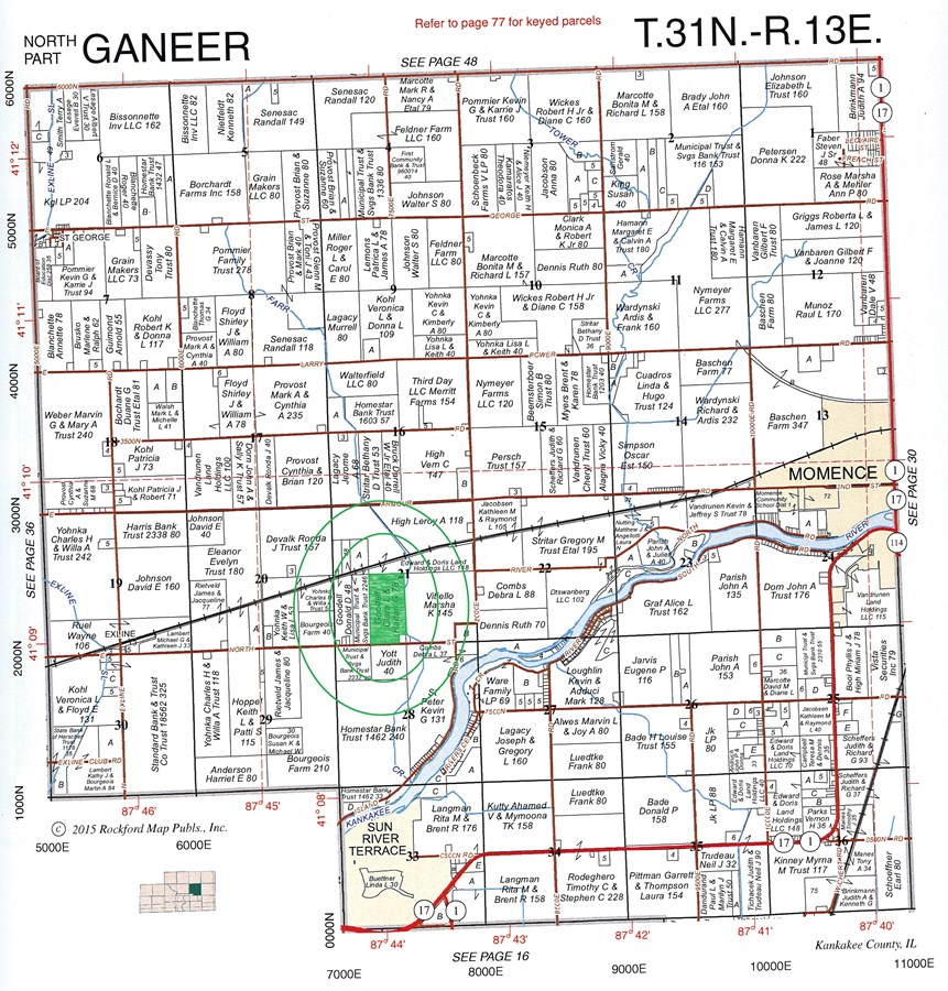 Property For Sale Kankakee IL Kankakee County Ganeer (North Part) on grand rapids county map, boone county map, wheaton county map, lincoln county map, tinley park county map, wheeling county map, il county map, crenshaw county map, piatt county map, dayton county map, elk grove village county map, grundy county map, rockford county map, cincinnati county map, peoria county map, sioux city county map, brown county map, jefferson county map, wilmington county map, effingham county map,