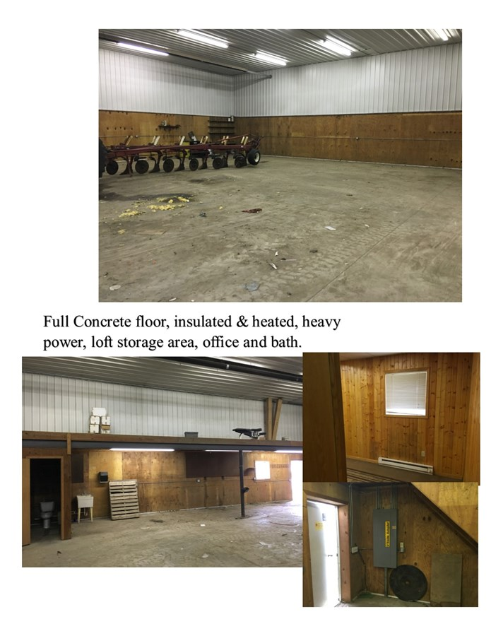 Shop Photos of the 10 acre farmstead on Hill road, Big Grove Township, Kendall County