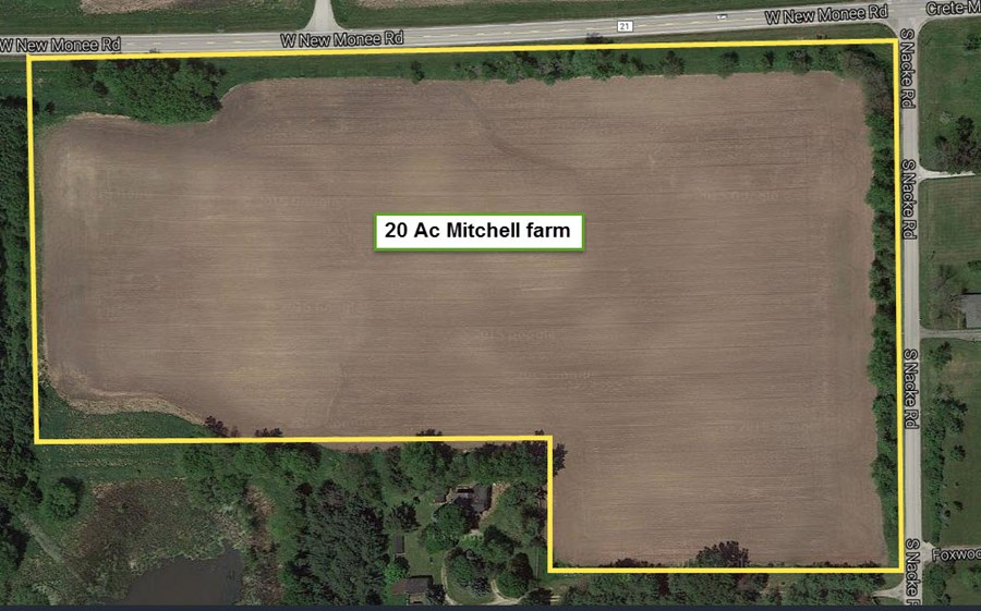 20 Acres Vacant Land in Will County