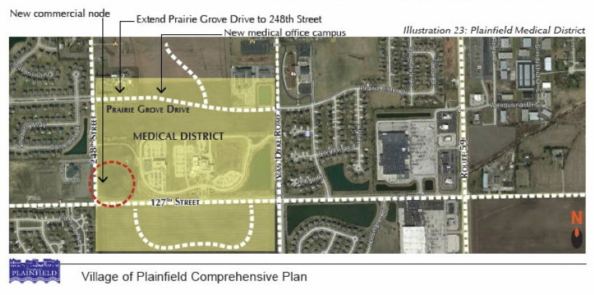 Medical Comprehensive Plan District Map 3