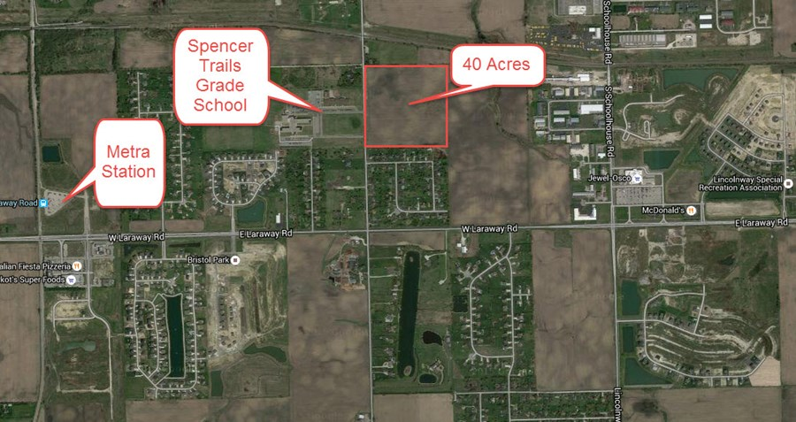 Aerial Map 2 of Spencer road 40 acres