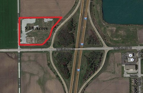 9 Acre I-57 Commercial Lot