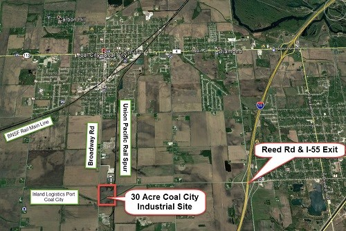 30 Acre Coal City Industrial Land