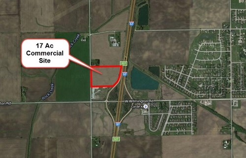 17 Ac I-57 Commercial Site at Peotone