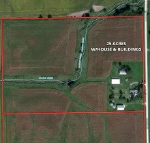25 Ac Manhattan Twp Farmstead
