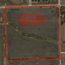 Millsdale Rd. Elwood 40 acres Industrial Site