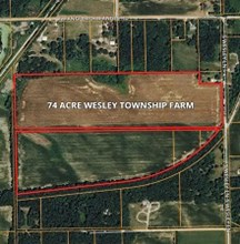74 Acre Wesley Township Farm