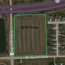 11 Acre New Lenox Commercial / Residential Site