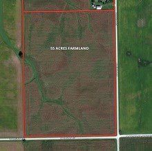 55 Ac Manhattan Twp Farm