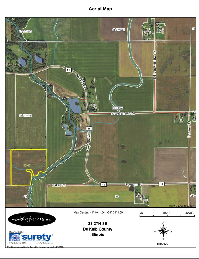 Property For Sale Earlville IL DeKalb County Paw Paw