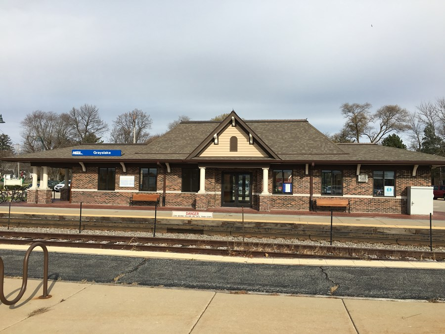 Grayslake Metra Station Lake Street