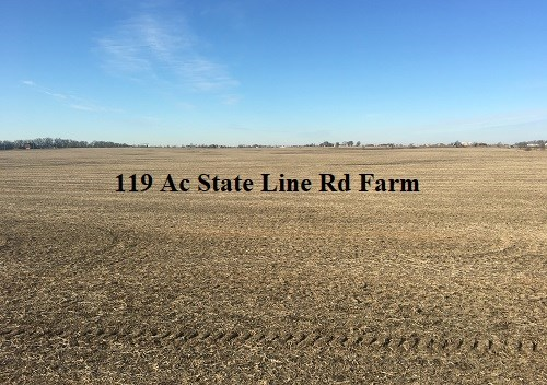 Land Photo of 119 acres Washington Township, Will County