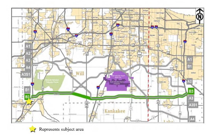 Proposed Illiana Toll Road - 2015 Scheduled Construction Start