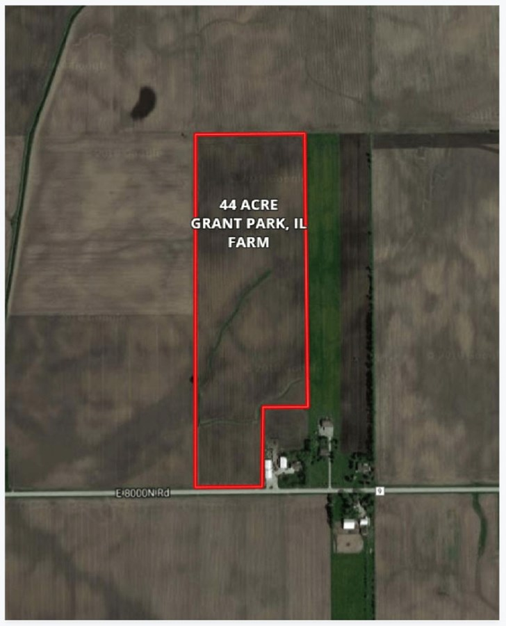 FSA Aerial Map for 44 Acres in Grant Park Farm