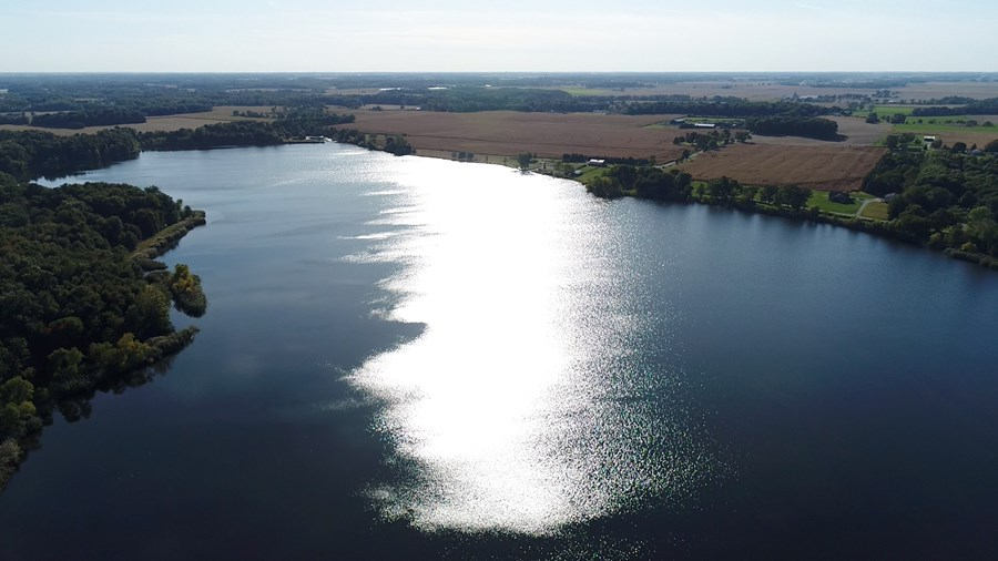 Aerial Photo of Cranberry Lake