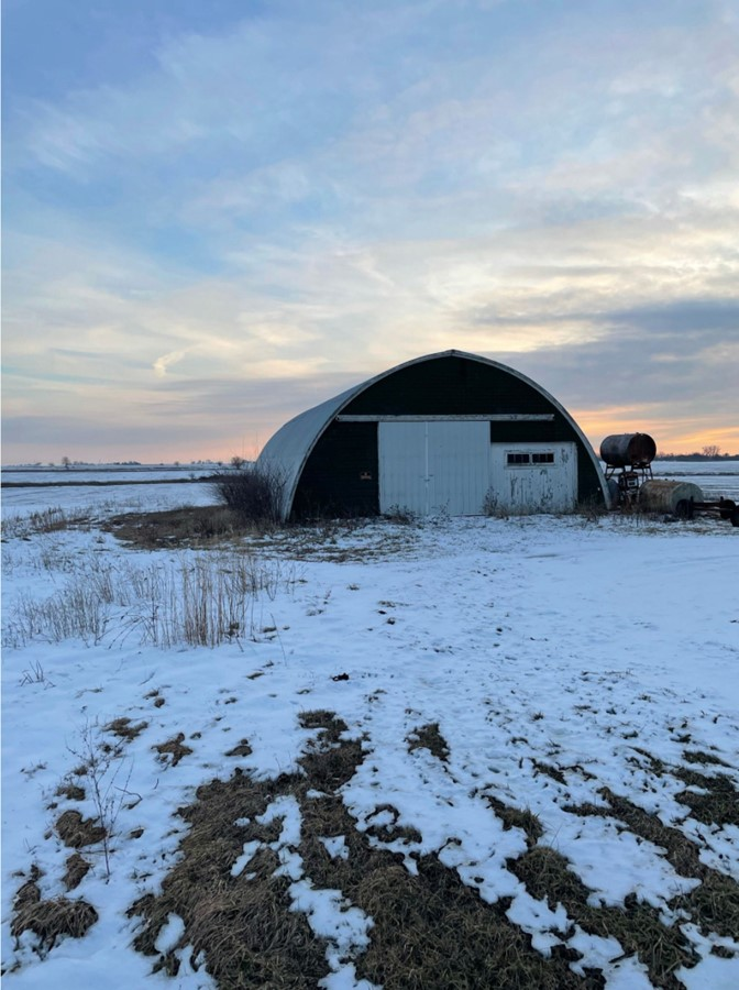 Quonset Building 11.3 Acre Peotone House and Buildings Will Township, Will County, IL
