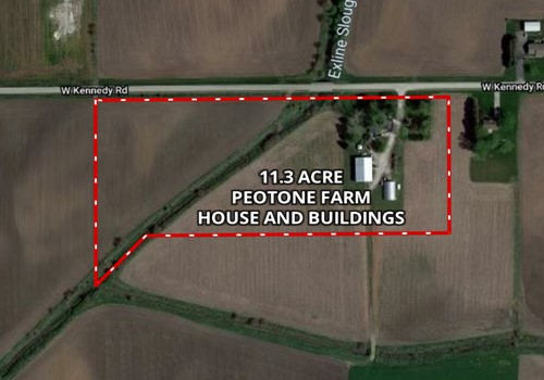 11 Acre Peotone House and Buildings
