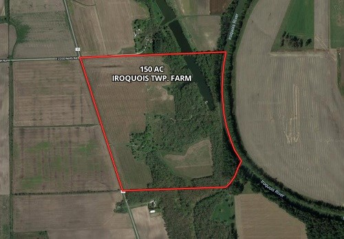 150 Ac Iroquois River Recreational Farm