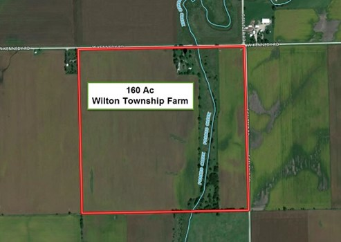 160 Acre Wilton Twp Eskra Farm