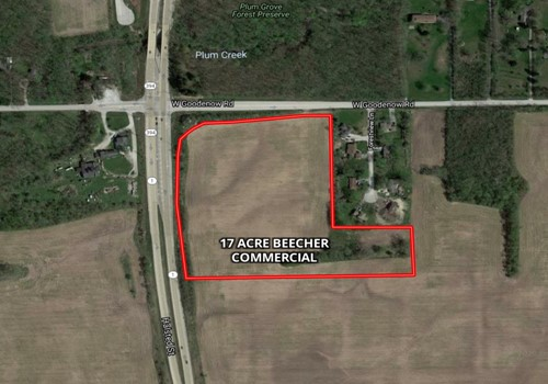 17 Acre Beecher Commercial Corner