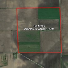 156 Acre Loraine Township Farm