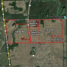 352 Acre Beecher Industrial/Farm Property