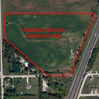 30 Ac Diamond Industrial Land