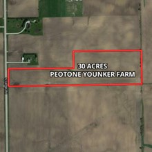 30 Acre Peotone Younker Farm