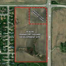 29 Acre Frankfort Square Development Site