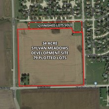 34 Acre New Lenox Development Site(Sylvan Meadows)