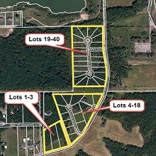 Brookfield Estates, Seneca Lots 4-18