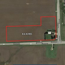 8+ Acres NW Corner of Laraway & Gougar