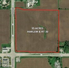 35 Ac Harlem & Rt. 30 Commercial