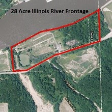 28 Acre Illinois River Frontage, Seneca