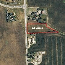 3 Plus Acre Plainfield Commercial Site