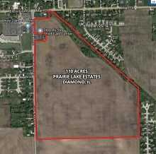 110 Acre Diamond Residential Development Site