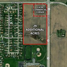 5 Ac Frankfort Square Commercial Development Site