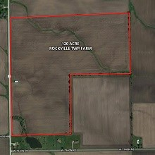 120 Acres Rockville Township Farm