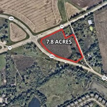 7.8 Acres Corner of Rt. 71 & 126 Yorkville