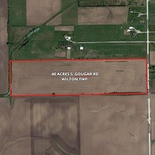 40 Acres S. Gougar Rd. Wilton Township